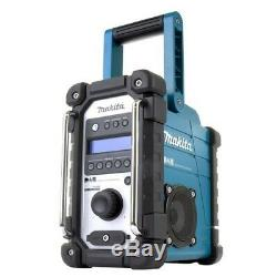 Makita Dmr109 Dab 10.8v-18v Lxt Cxt Li-ion Job Site Radio + Batterie + Chargeur