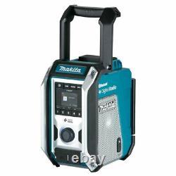Makita Dmr115 10.8v-18v Cxt / Lxt Li-ion Ac Dab Plus Bluetooth Radio Jobsite Body
