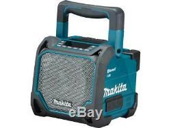 Makita Dmr202 10.8-18v Li-ion Cxt Lxt De L'unité Bare Job Site Radio