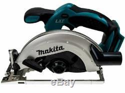 Makita Dss611z 18v 165mm Lxt Li-ion Scie Circulaire Nu Boîtier Nu