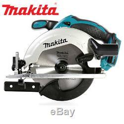 Makita Dss611z 18v Li-ion Lxt Scie Circulaire + 5 1.5mm Supplémentaires 24 Dents En Bois Lames