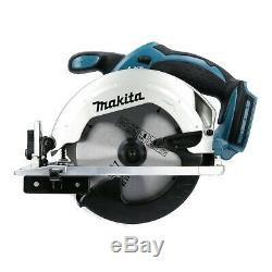 Makita Dss611z 18v Lxt Li-ion Sans Fil Scie Circulaire 165mm Boîtier Nu Ex Bss611z