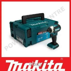 Makita Dtd153zj 18v Lxt Li-ion Cord/brushless Impact Driver Body Uniquement À Makpac