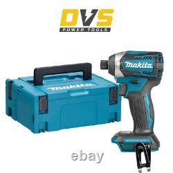 Makita Dtd154z Lxt Li-ion 18v Cordless Brushless Impact Driver Body Uniquement Avec Cas