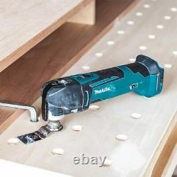 Makita Dtm51z 18v 390w Li-ion Lxt Keyless Multi-tool, Brand New Uk Stock, Low ££