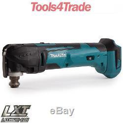 Makita Dtm51z 18v Li-ion Multi-outils Lxt Sans Clé Lame Changement Corps Nu Seulement