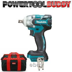 Makita Dtw285z 18volt Li-ion Lxt Brushless 1/2in Impact Wrench Body + Carry Bag