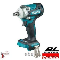 Makita Dtw300z 18v Li-ion Brushless Lxt 1/2 Impact Wrench Nut Runner Body Only