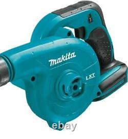 Makita Dub182 Lxt 18v Li-ion Leaf Blower Vacuum + 2 X 1.5ah Batteries + Sac