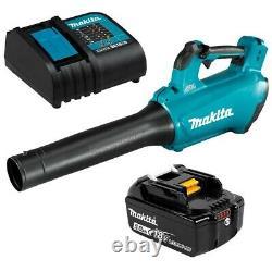Makita Dub184st 18v 5.0ah Li-ion Lxt Brushless Sans Fil Blower Kit Combo