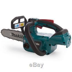 Makita Duc254z De Lxt Li-ion Sans Fil Brushless Chainsaw 25cm / 10 Boîtier Nu