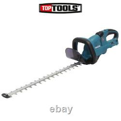 Makita Duh551z Twin 18v Lxt Li-ion Cordless Hedge Trimmer 550mm Corps Seulement