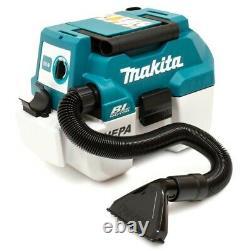 Makita Dvc750lz 18v Lxt Bl L Classe Aspirateur Nu Unité Humide Et Sèche Li-ion
