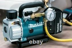 Makita Dvp180z 18v Lxt Unité Mobile De Pompe À Vide Sans Fil Li-ion
