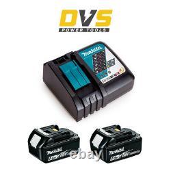 Makita Energy Kit 2x 5.0ah 18v Lxt Piles Li-ion Bl1850 & Dc18rc Chargeur Rapide