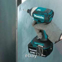 Makita Power Tool Combo Kit 18 Volt 4 Pièces 5.0ah Lxt Li-ion Sans Fil Sans Fil