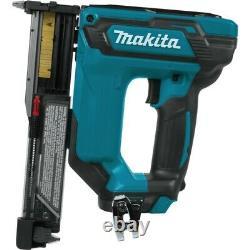 Makita Pt354dz 12v Max 10.8v Li-ion Lxt Cordless Pin Nailer 23 Jauge + Makpac