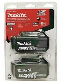 Makita Véritable Bl1850 18v 5.0ah Li-ion Lxt Jumelle Pack Uk Stock