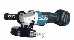 Makita Xag20z 18v Lxt Li-ion Brushless Sans Fil 4-1 / 2 Po. 5 Po. Angle Grinder