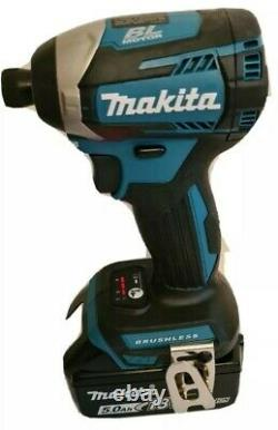 Makita Xdt14/ Dtd154z Lxt 18v Li-ion Brushless Impact Driver 1 X 5ah Batterie