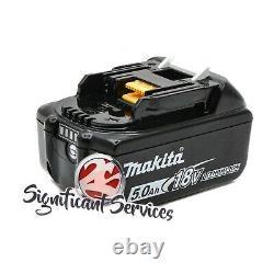 Makita Xmt03z 18v Lxt Sans Fil Oscillating Multi-tool Li-ion 5.0 Ah Battery Kit