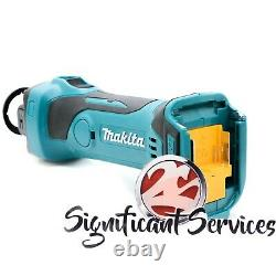 Makita Xoc01z Lxt 18v Li-ion Drywall Cordless Rotary Cut Out Tool 2 Ah Batteries