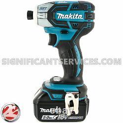 Makita Xst01z 18v Lxt Li-ion Sans Fil 3 Vitesse 5,0 Ah Douce Huile D'impact Driver Kit