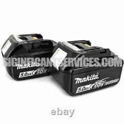 Makita Xvj02z 18v 18 Volt Lxt Li-ion Scie À Jig Sans Brosse Sans Brosse 5.0 Ah Batteries