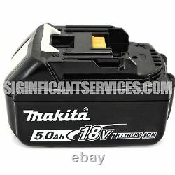 Makita Xvj03z 18v 18 Volt LX Li-ion Jigsaw Kit De Chargeur De Batterie 5,0 Ah