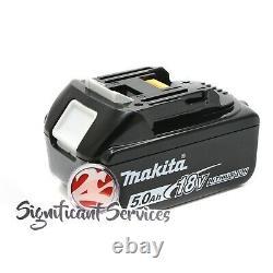 Makita Xvj03z 18v 18 Volts Li-ion Jigsaw Cordless Bl1850b 5.0 Ah Batteries