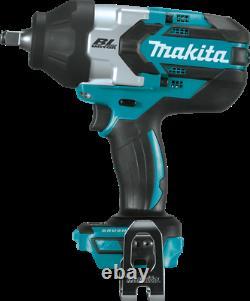 Makita Xwt08z Lxt Li-ion Sans Brosse Sans Fil High Torque Square Impact Wrench 18v