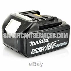 New Makita Xrj05z 18v Lxt Li-ion Brushless Sans Fil 5,0 Ah Scie Alternative Kit