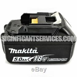 New Makita Xss02z 18v Lxt 5,0 Ah Li-ion Sans Fil De La Batterie 6-1 / 2 Scie Circulaire