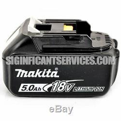 New Makita Xwt08z 18v Lxt Li-ion Brushless 1/2 Po Clé À Chocs 5,0 Ah Batteries