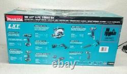 Nouveau Makita Combo Kit 7 Outils Sans Fil 18v Lxt Avec Batteries Ion Lithium 3.0ah