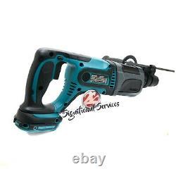 Nouveau Makita Xrh04z 18v Lxt Li-ion Sans Fil 7/8 Pouces Rotatif Hammer Hammer Drill