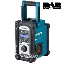Site Makita Dmr109 Dab Bleu Job Radio Cxt 10.8v Lxt 18v Li-ion Rp Dmr104