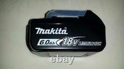Véritable Makita 18v 6.0ah Li-ion Lxt Batterie Bl1860b New Jamais Utilisé 2020