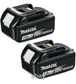 Véritable Makita Bl1830 18v 3.0ah Lxt Li-ion Makstar Battery Twin Pack