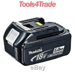 Véritable Makita Bl1850 Twin Pack 18v 5.0ah Lxt Li-ion Mak Étoile Batterie Avec Étoile