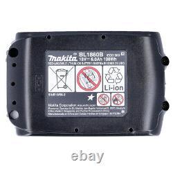 Véritable Makita Bl1860 18v 6.0ah Li-ion Lxt Makstar Battery Pack